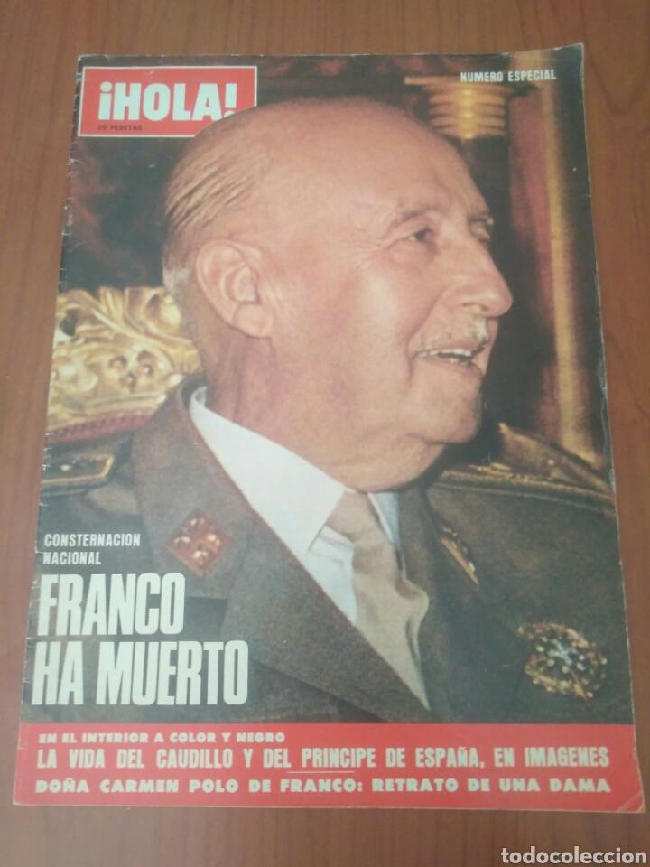 NUMERO ESPECIAL REVISTA HOLA FRANCO HA MUERTO (Coleccionismo - Revistas y Periódicos Modernos (a partir de 1.940) - Revista Hola)