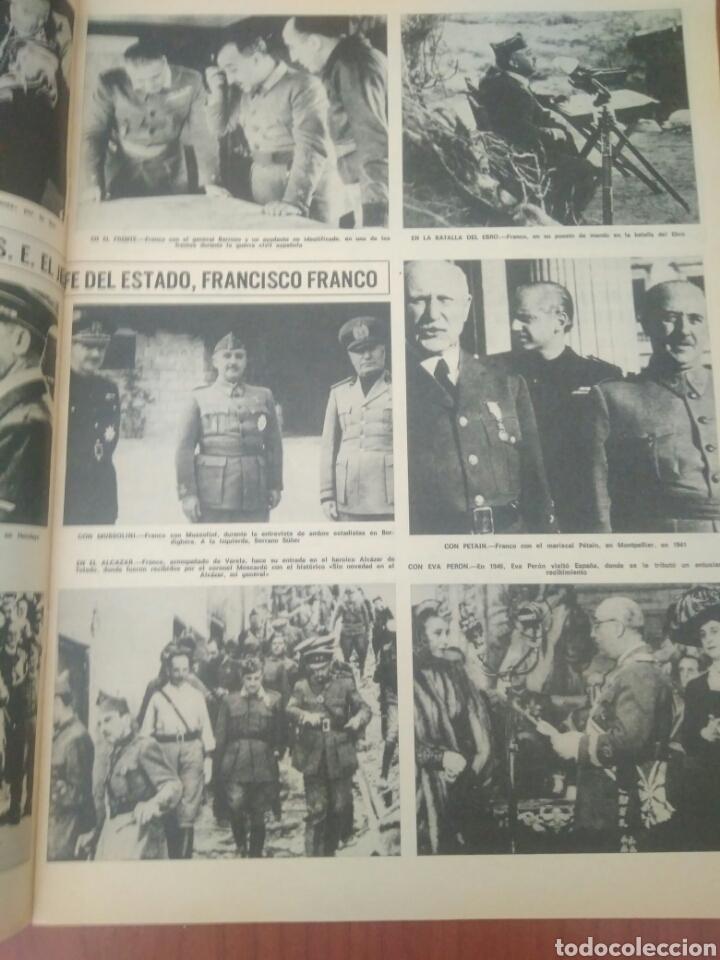 Coleccionismo de Revista Hola: NUMERO ESPECIAL REVISTA HOLA FRANCO HA MUERTO - Foto 2 - 125380290
