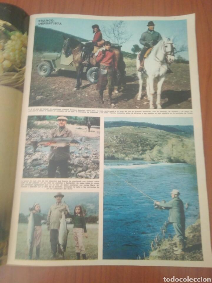 Coleccionismo de Revista Hola: NUMERO ESPECIAL REVISTA HOLA FRANCO HA MUERTO - Foto 3 - 125380290