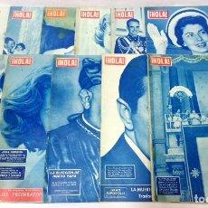 Coleccionismo de Revista Hola: LOTE 11 REVISTAS HOLA. VER NÚMEROS EN DESCRIPCIÓN.. Lote 125391619