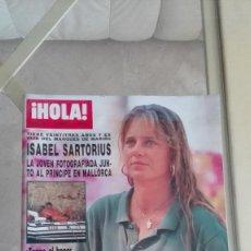 Coleccionismo de Revista Hola: REVISTA HOLA 1989 CHABELI SARTORIUS PUBLI VOLSKWAGEN JETTA . Lote 126269871