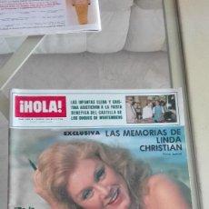 Coleccionismo de Revista Hola: REVISTA HOLA 1984 JANE SEYMOUR PUBLI RENAULT 11 LINA MORGAN JAIME DE MORA LA FAMILIA DE EL CORDOBES. Lote 126270663