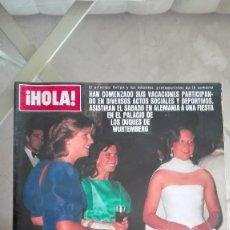 Coleccionismo de Revista Hola: REVISTA HOLA 1984 TATIANA ESPINOSA PUBLI FORD SIERRA MICHAEL JACKSON PAQUIRRI DURCAL PUBLI POLO. Lote 126274679