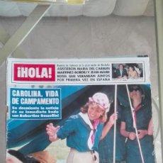 Coleccionismo de Revista Hola: REVISTA HOLA 1983 GALACTICA PUBLI RENAULT FUEGO ORIENT PILAR ARIAS PALOMO LINARES OPEL KADETT 1.8. Lote 126278811