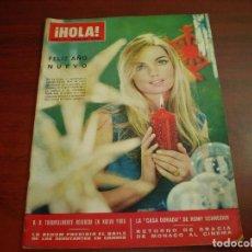 Coleccionismo de Revista Hola: REVISTA HOLA AÑO 1966- Nº 1114- CASA DORADA ROMY SCHNEIDER- RETORNO GRACIA MONACO AL CINEMA. Lote 126792563
