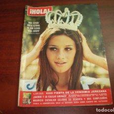 Coleccionismo de Revista Hola: REVISTA HOLA AÑO 1970- Nº 1361-MISS ESPAÑA NOELIA ALFONSO- FIESTA VENDIMIA JEREZANA. Lote 126794455