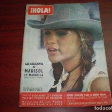 Coleccionismo de Revista Hola: HOLA AÑO 1971- Nº 1408- VACACIONES MARISOL MARBELLA- BRIGITRE BARDOT EN MARBELLA. Lote 127587679