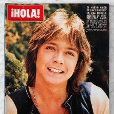 Coleccionismo de Revista Hola: HOLA - 1974 - DAVID CASSIDY, GRAN FIESTA DE GALA EN MÓNACO, DÚO DINÁMICO, AZNAVOUR, AUDREY HEPBURN. Lote 59502651