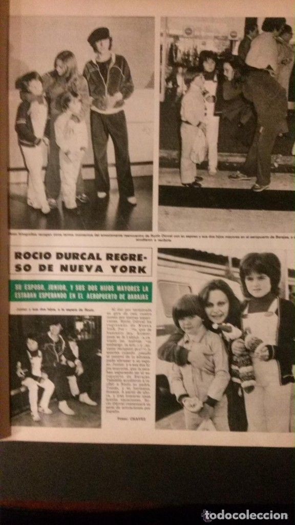 Coleccionismo de Revista Hola: REVISTA HOLA 1980 ROCÍO DÚRCAL JULIO IGLESIAS - Foto 2 - 90815220