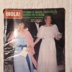 Coleccionismo de Revista Hola: REVISTA ¡HOLA! N° 1869. 21 JUNIO 1980.. Lote 128598066