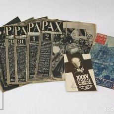 Coleccionismo de Revista Hola: 7 PUBLICACIONES PAX Y 1 ¡HOLA! SOBRE EL XXXV CONGRESO EUCARÍSTICO INTERNACIONAL BARCELONA, AÑO 1952. Lote 129966427