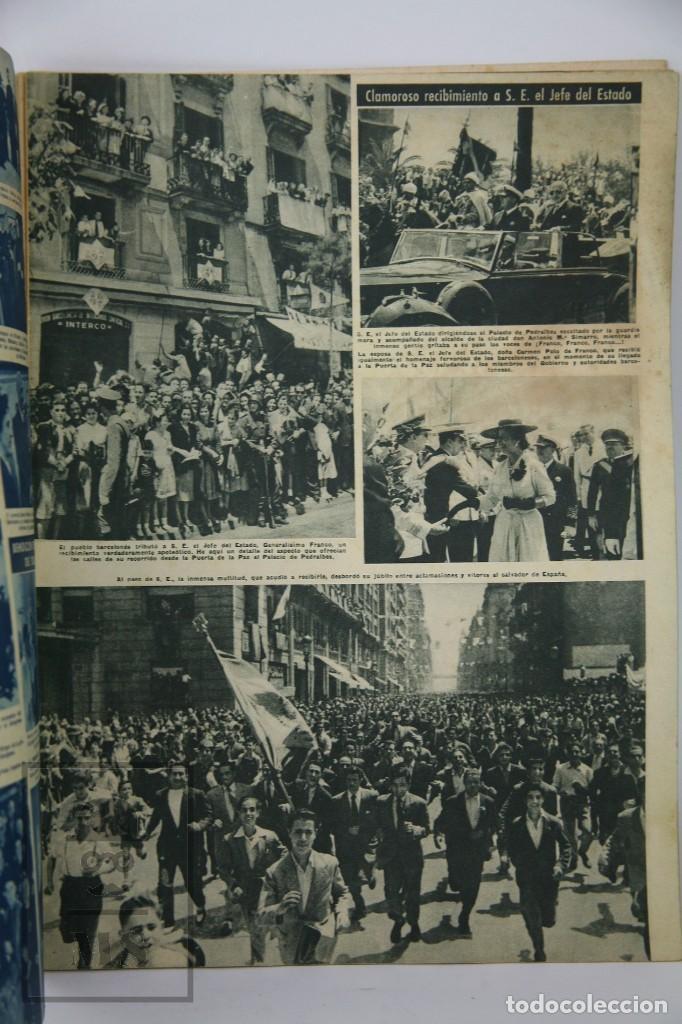 Coleccionismo de Revista Hola: 7 Publicaciones PAX y 1 ¡Hola! sobre el XXXV Congreso Eucarístico Internacional Barcelona, Año 1952 - Foto 4 - 129966427