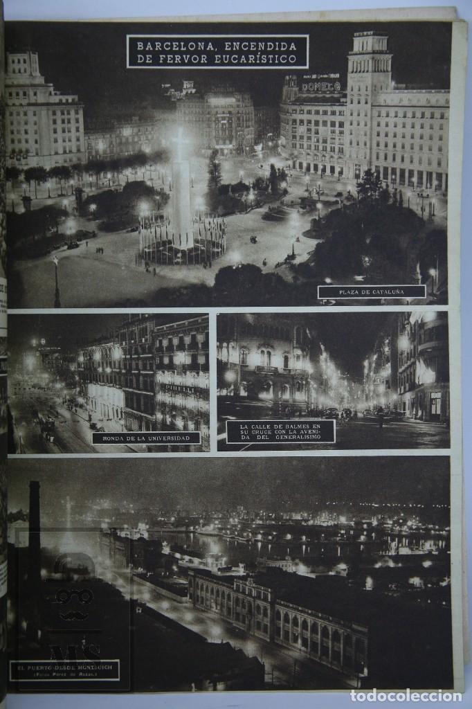 Coleccionismo de Revista Hola: 7 Publicaciones PAX y 1 ¡Hola! sobre el XXXV Congreso Eucarístico Internacional Barcelona, Año 1952 - Foto 6 - 129966427