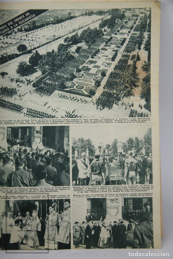 Coleccionismo de Revista Hola: 7 Publicaciones PAX y 1 ¡Hola! sobre el XXXV Congreso Eucarístico Internacional Barcelona, Año 1952 - Foto 7 - 129966427