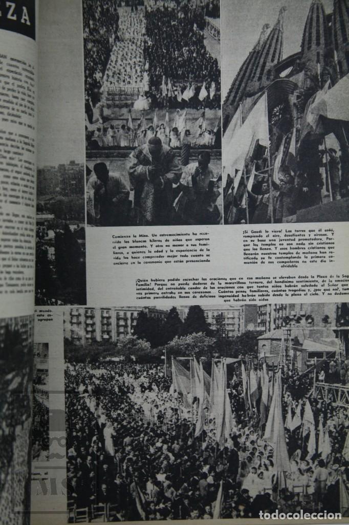 Coleccionismo de Revista Hola: 7 Publicaciones PAX y 1 ¡Hola! sobre el XXXV Congreso Eucarístico Internacional Barcelona, Año 1952 - Foto 15 - 129966427