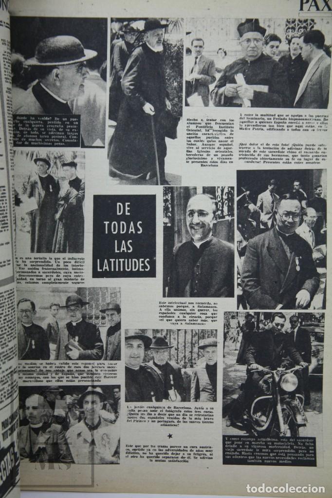 Coleccionismo de Revista Hola: 7 Publicaciones PAX y 1 ¡Hola! sobre el XXXV Congreso Eucarístico Internacional Barcelona, Año 1952 - Foto 17 - 129966427