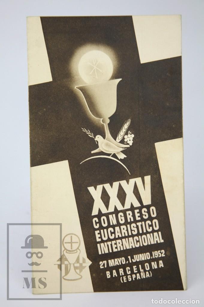 Coleccionismo de Revista Hola: 7 Publicaciones PAX y 1 ¡Hola! sobre el XXXV Congreso Eucarístico Internacional Barcelona, Año 1952 - Foto 18 - 129966427
