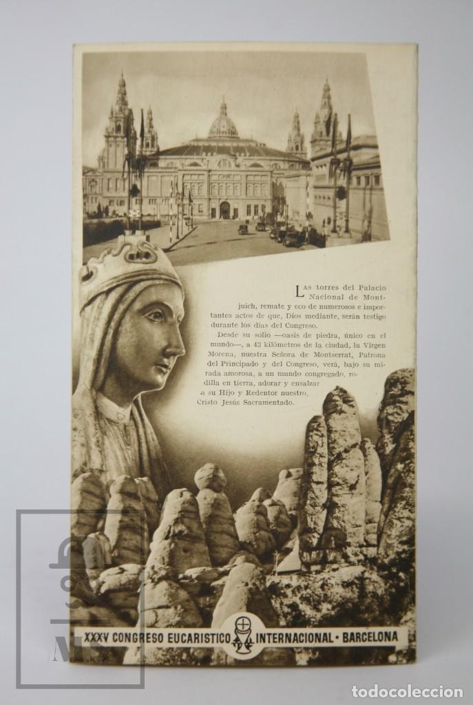 Coleccionismo de Revista Hola: 7 Publicaciones PAX y 1 ¡Hola! sobre el XXXV Congreso Eucarístico Internacional Barcelona, Año 1952 - Foto 22 - 129966427