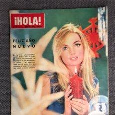 Coleccionismo de Revista Hola: HOLA. REVISTA ESPAÑOLA NO.1114 (1 DE ENERO 1966). REVISTA DE SOCIEDAD. Lote 130099792