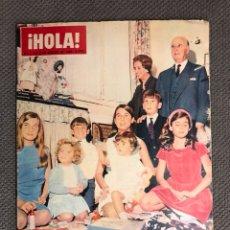 Coleccionismo de Revista Hola: HOLA. REVISTA ESPAÑOLA NO.1115 (8 DE ENERO 1966). REVISTA DE SOCIEDAD. Lote 130099895