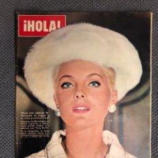 Coleccionismo de Revista Hola: HOLA. REVISTA ESPAÑOLA NO.1116 (15 DE ENERO 1966). REVISTA DE SOCIEDAD. Lote 130099996