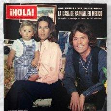 Coleccionismo de Revista Hola: HOLA - 1980 - RAPHAEL, ISABEL PANTOJA, JULIO IGLESIAS, ROBIN ELLIS, JACLYN SMITH, CAROLINA. Lote 53726775