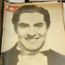 Coleccionismo de Revista Hola: HOLA Nº 40 O 49 - 2 JUNIO 1945 - TYRONE POWER, REPORTAJE SOBRE EL TRANVIA, FERIA DE BARCELONA, ETC. Lote 131103180