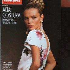 Coleccionismo de Revista Hola: HOLA, NUMERO EXTRAORDINARIO PRIMAVERA VERANO 2000. Lote 131104144