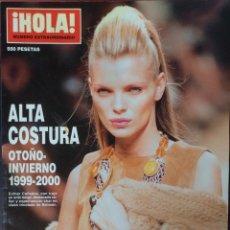Coleccionismo de Revista Hola: HOLA, NUMERO EXTRAORDINARIO, ALTA COSTURA OTOÑO INVIERNO 1999-2000. Lote 131104284