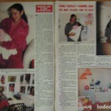 Coleccionismo de Revista Hola: RECORTE REVISTA HOLA Nº 2064 1984 ISABEL PANTOJA, PAQUIRRI. Lote 131771486