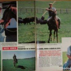 Coleccionismo de Revista Hola: RECORTE REVISTA HOLA Nº 2044 1983 BERTIN OSBORNE. Lote 131784150