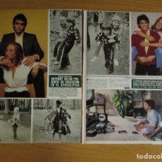 Coleccionismo de Revista Hola: RECORTE REVISTA HOLA Nº 2044 1983 ANTHONY DELON. Lote 244478410