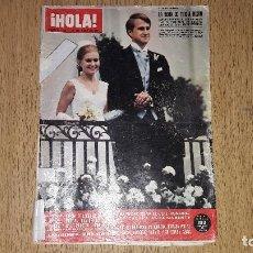 Coleccionismo de Revista Hola: REVISTA HOLA. NÚMERO 1399.....1971... Lote 131927630