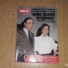 Coleccionismo de Revista Hola: REVISTA HOLA. NÚMERO 2135......1985... Lote 131928322