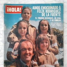 Collectionnisme de Magazine Hola: HOLA - 1980 - FÉLIX RODRÍGUEZ DE LA FUENTE, CAMILO SESTO, RINGO STARR, PECOS, KARIN ZORN. Lote 50885534