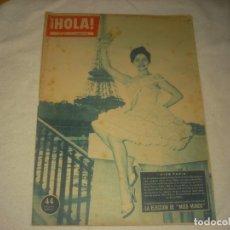 Coleccionismo de Revista Hola: HOLA ! Nº 794 , NOVIEMBRE 1959, MISS PARIS,REPORTAJE DE MISS MUNDO .... Lote 132006790