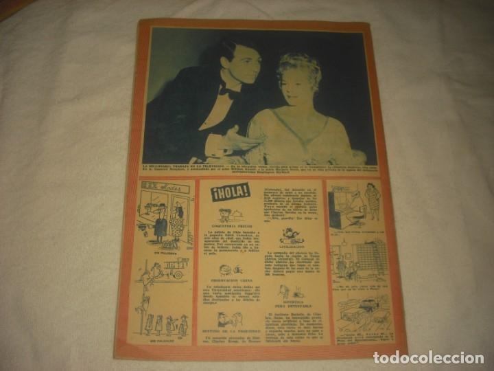 Coleccionismo de Revista Hola: HOLA ! Nº 806 , FEBRERO DE 1960 . LA REINA ISABEL DE INGLATERRA Y SU TERCER ALUMBRAMIENTO - Foto 2 - 132008630