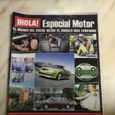 Coleccionismo de Revista Hola: HOLA ESPECIAL MOTOR. Lote 132185901