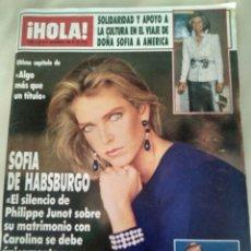 Coleccionismo de Revista Hola: REVISTA HOLA. Lote 133367695