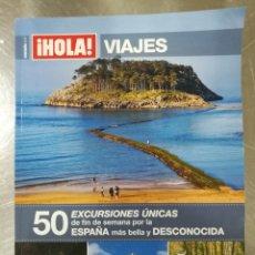 Coleccionismo de Revista Hola: HOLA ESPECIAL VIAJES 2001. Lote 133959207