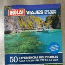 Coleccionismo de Revista Hola: HOLA ESPECIAL VIAJES POR EL MUNDO 2001. Lote 133959379