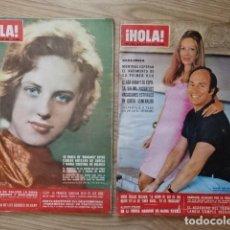 Coleccionismo de Revista Hola: LOTE 2 HOLA Nº 1341 Y 1357 AÑO 1970 AGA KHAN SALINA MARIA CALAS MARÍA CRISTINA DE BÉLGICA CAROLINA. Lote 134017366