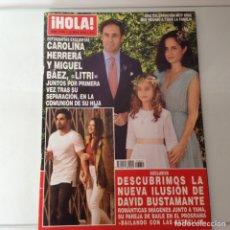 Coleccionismo de Revista Hola: HOLA N.3850. Lote 134830213