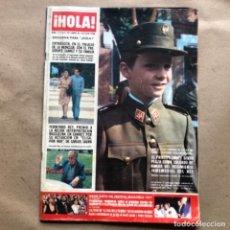 Coleccionismo de Revista Hola: REVISTA ¡HOLA! N°1711, DEL AÑO 1977. PRINCIPE FELIPE, ADOLFO SUÁREZ, BAUTIZO ROCIITO.. Lote 135107190