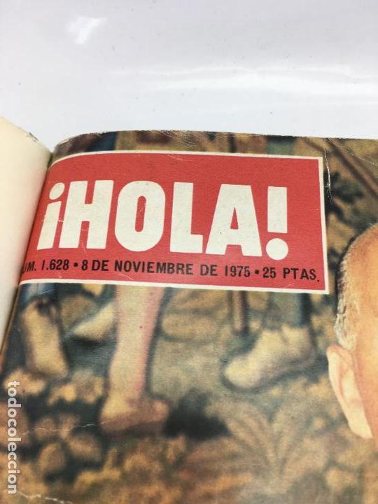 Coleccionismo de Revista Hola: FRANCO Y JUAN CARLOS I, ENCUADERNADO DE REVISTAS HOLA DESDE ENFERMEDAD DE FRANCO HASTA LA CORONACION - Foto 3 - 135162490