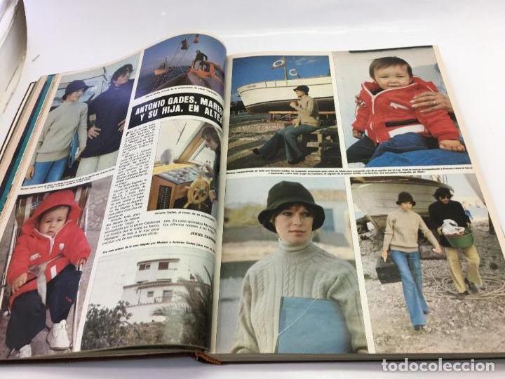 Coleccionismo de Revista Hola: FRANCO Y JUAN CARLOS I, ENCUADERNADO DE REVISTAS HOLA DESDE ENFERMEDAD DE FRANCO HASTA LA CORONACION - Foto 6 - 135162490