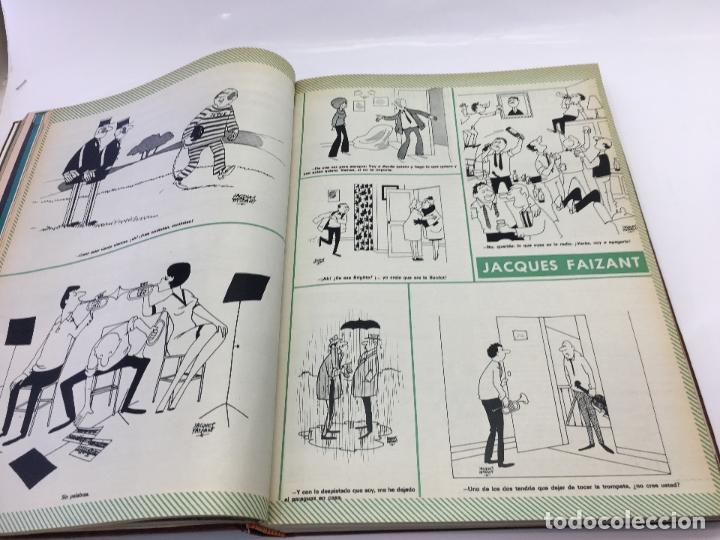 Coleccionismo de Revista Hola: FRANCO Y JUAN CARLOS I, ENCUADERNADO DE REVISTAS HOLA DESDE ENFERMEDAD DE FRANCO HASTA LA CORONACION - Foto 7 - 135162490