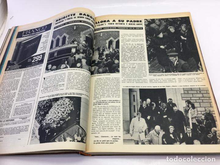 Coleccionismo de Revista Hola: FRANCO Y JUAN CARLOS I, ENCUADERNADO DE REVISTAS HOLA DESDE ENFERMEDAD DE FRANCO HASTA LA CORONACION - Foto 8 - 135162490