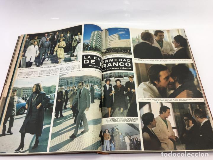 Coleccionismo de Revista Hola: FRANCO Y JUAN CARLOS I, ENCUADERNADO DE REVISTAS HOLA DESDE ENFERMEDAD DE FRANCO HASTA LA CORONACION - Foto 9 - 135162490