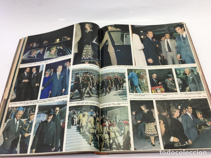 Coleccionismo de Revista Hola: FRANCO Y JUAN CARLOS I, ENCUADERNADO DE REVISTAS HOLA DESDE ENFERMEDAD DE FRANCO HASTA LA CORONACION - Foto 10 - 135162490